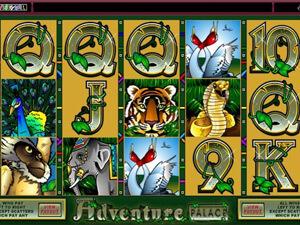 Caça-níquel Adventure Palace revisão
